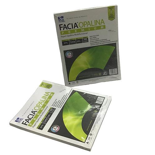 Paquete de Papel Opalina Multifuncional Tamaño Carta (100 hojas)