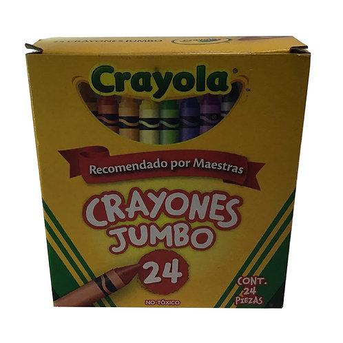 Crayones Jumbo (caja c/ 24 piezas)