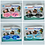 Thumbnail: Children's Advanced Swim Goggles, Ear Plugs & Nose Clip Set