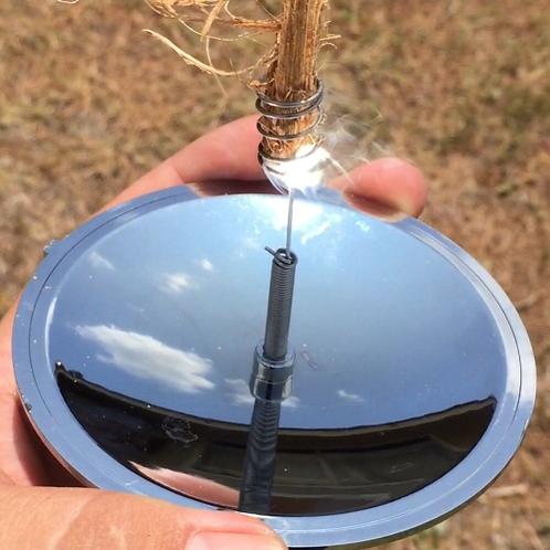 Portable Solar Fire Starter