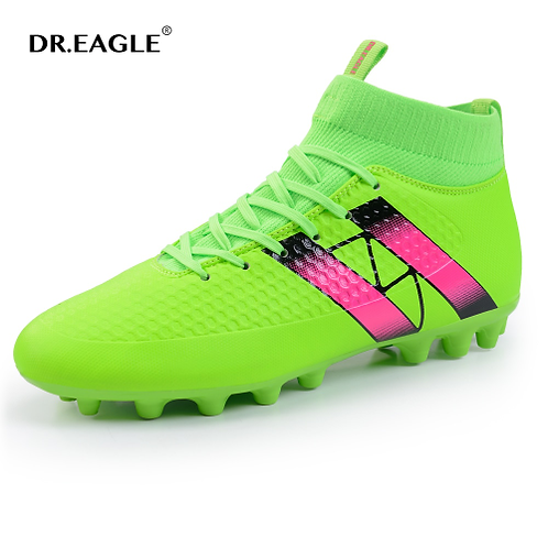 DR. EAGLE Men's High Ankle Soccer Cleats