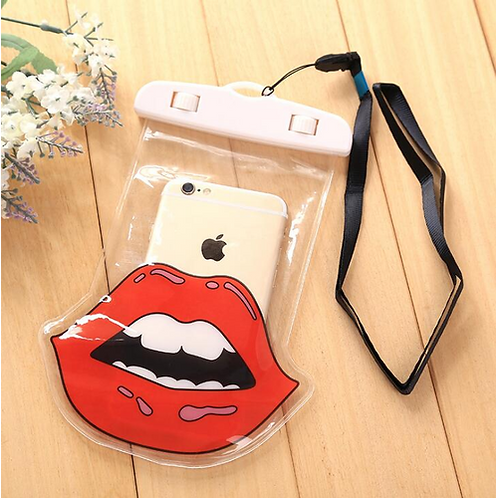 Assorted Cartoon Waterproof Cell Phone Bag