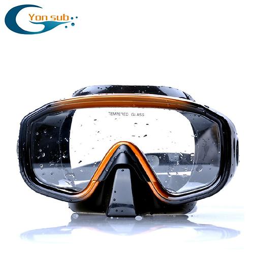 Yonsub Adult Professional Silicone Anti-Fog Diving Mask Set