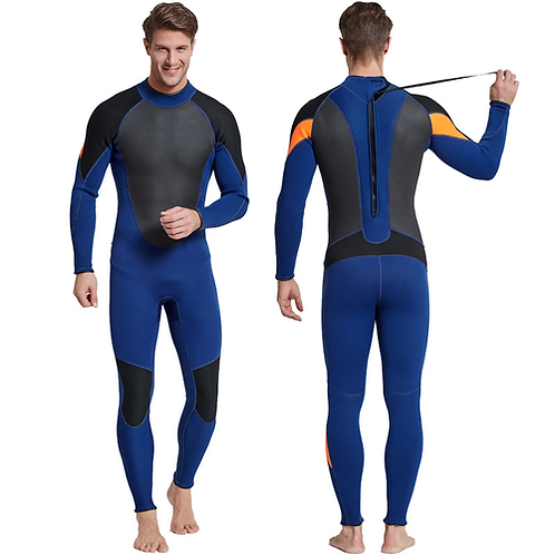 SBART Men's Full Body Wetsuit