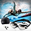 Thumbnail: Adult Swimming Goggles, Cap & Ear Plugs Set