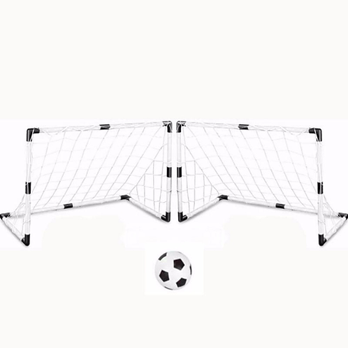 Children's Soccer Goal & Ball Set with Pump