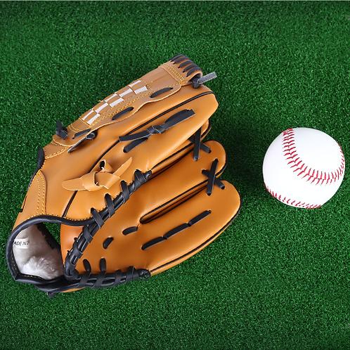 Brown Softball Glove