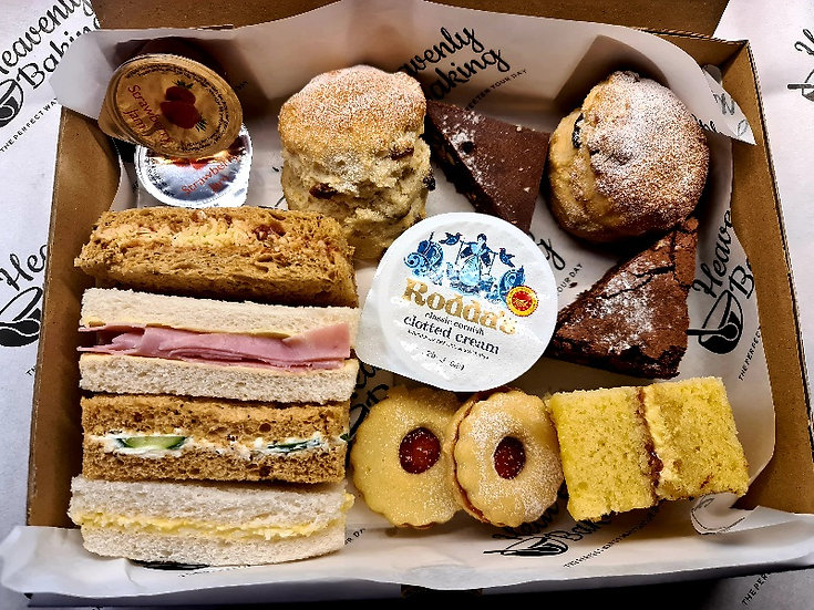 Traditional Afternoon Tea Boxes