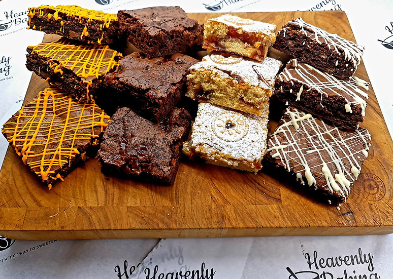 12 Brownie Selection