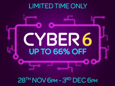 Cyber 6 Top Craft Deals at Hochanda
