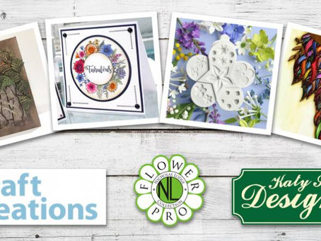 Katy Sue Designs launches new product range on Create and Craft TV