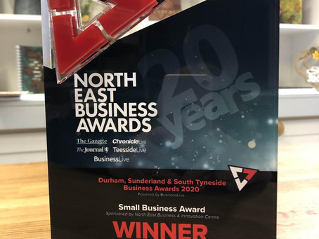 Small Business Award Win for Katy Sue Designs