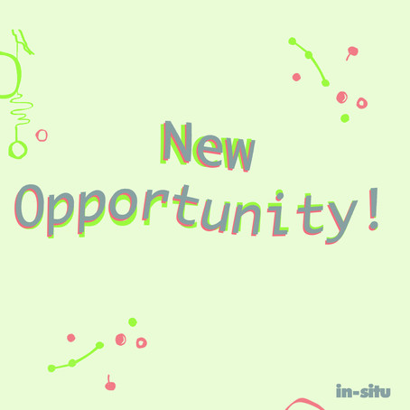 New Opportunity with In-Situ: Marketing and Digital