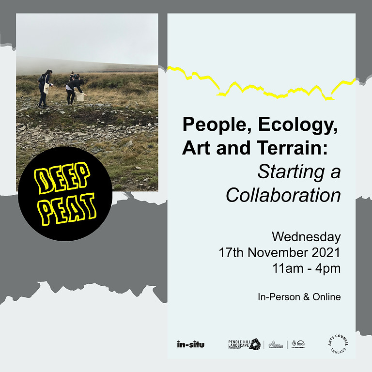 DEEP PEAT// People, Ecology, Art and Terrain: Starting a Collaboration