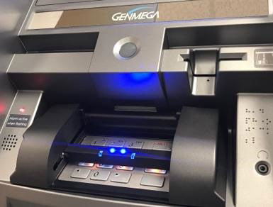Now offering sanitization solution for Genmega ATMs