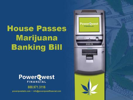 House of Representatives approves cannabis banking bill