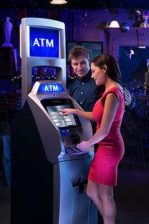 ATM in a bar or club