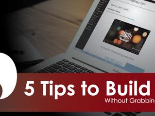5 Tips to Build SEO - Organically