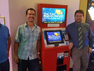 Iowa's Marcus Theatres Arcade's Now Accepting Debit Cards