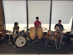Saintes cours de batterie - Audition EDMA chez Blanchard musique.jpg
