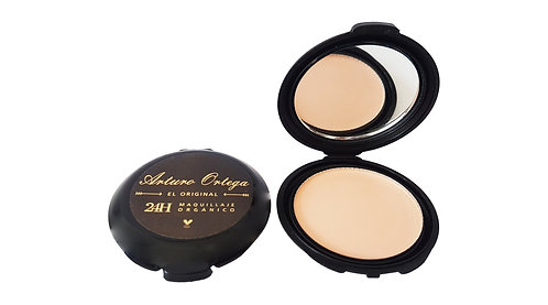 Maquillaje Compacto Orgánico De Seda Arturo Ortega Makeup®