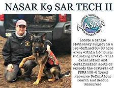 SAR K9 Maryland