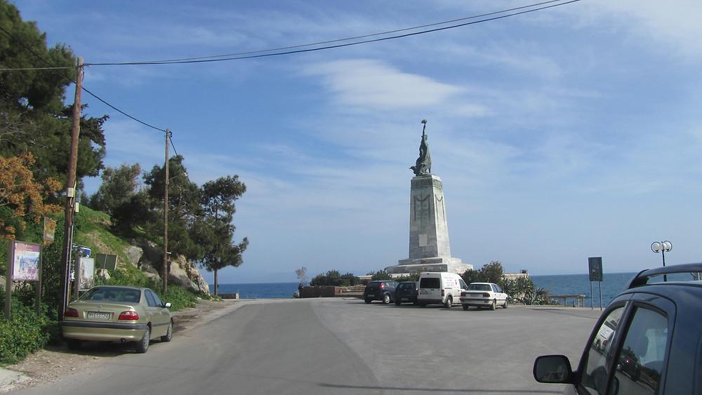 The Statue of Liberty in Mytilini photo: Andrea Sarris