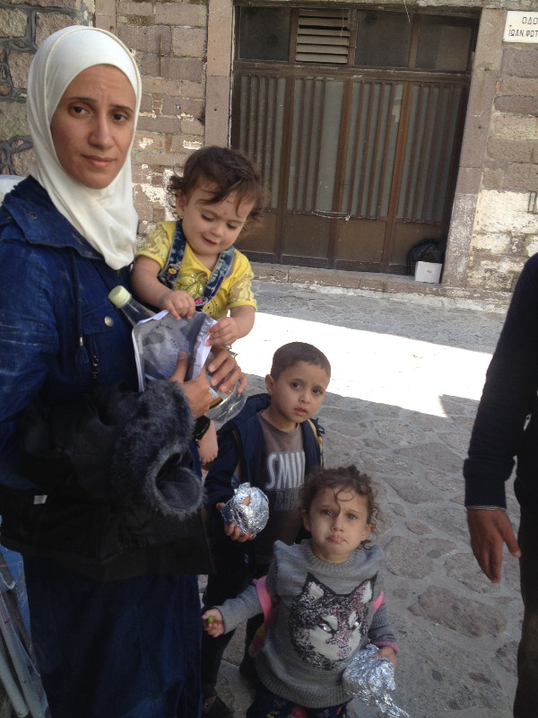 Syrian family from Damascus