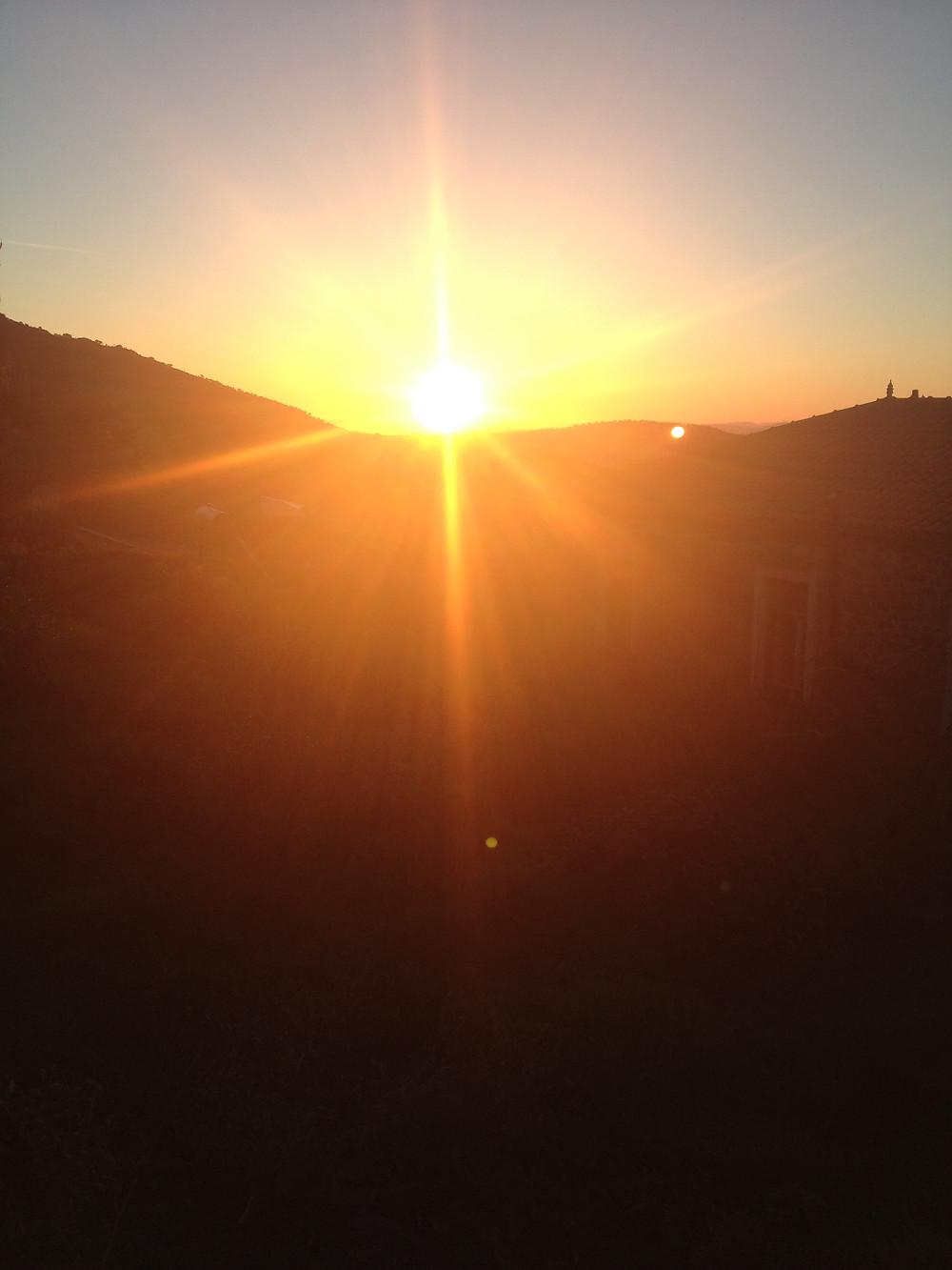 Sunrise Ipsilometopo over Mandamados/Turkish Coast