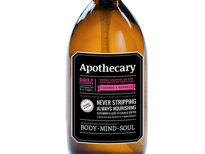 We love the Apothecary new identity