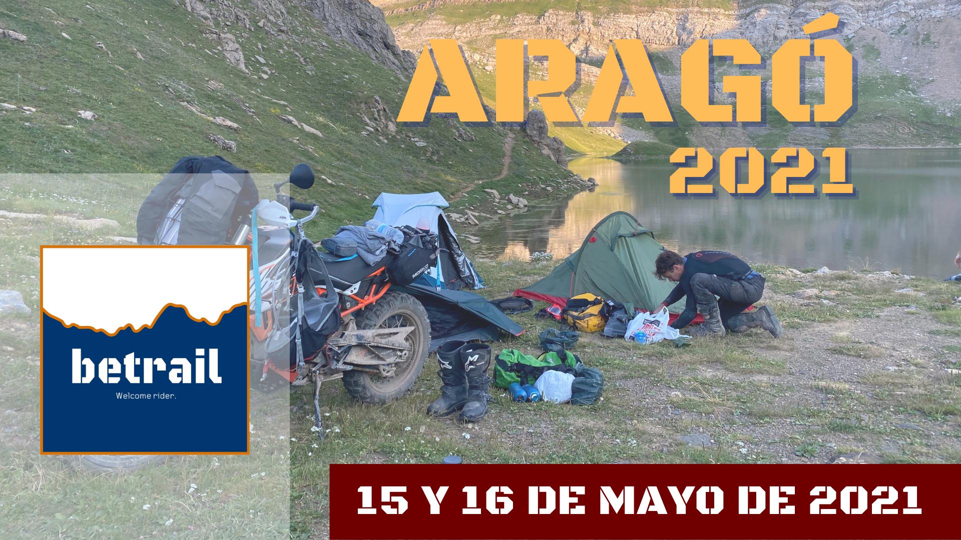Ruta Aragón 2021 - betrail moto