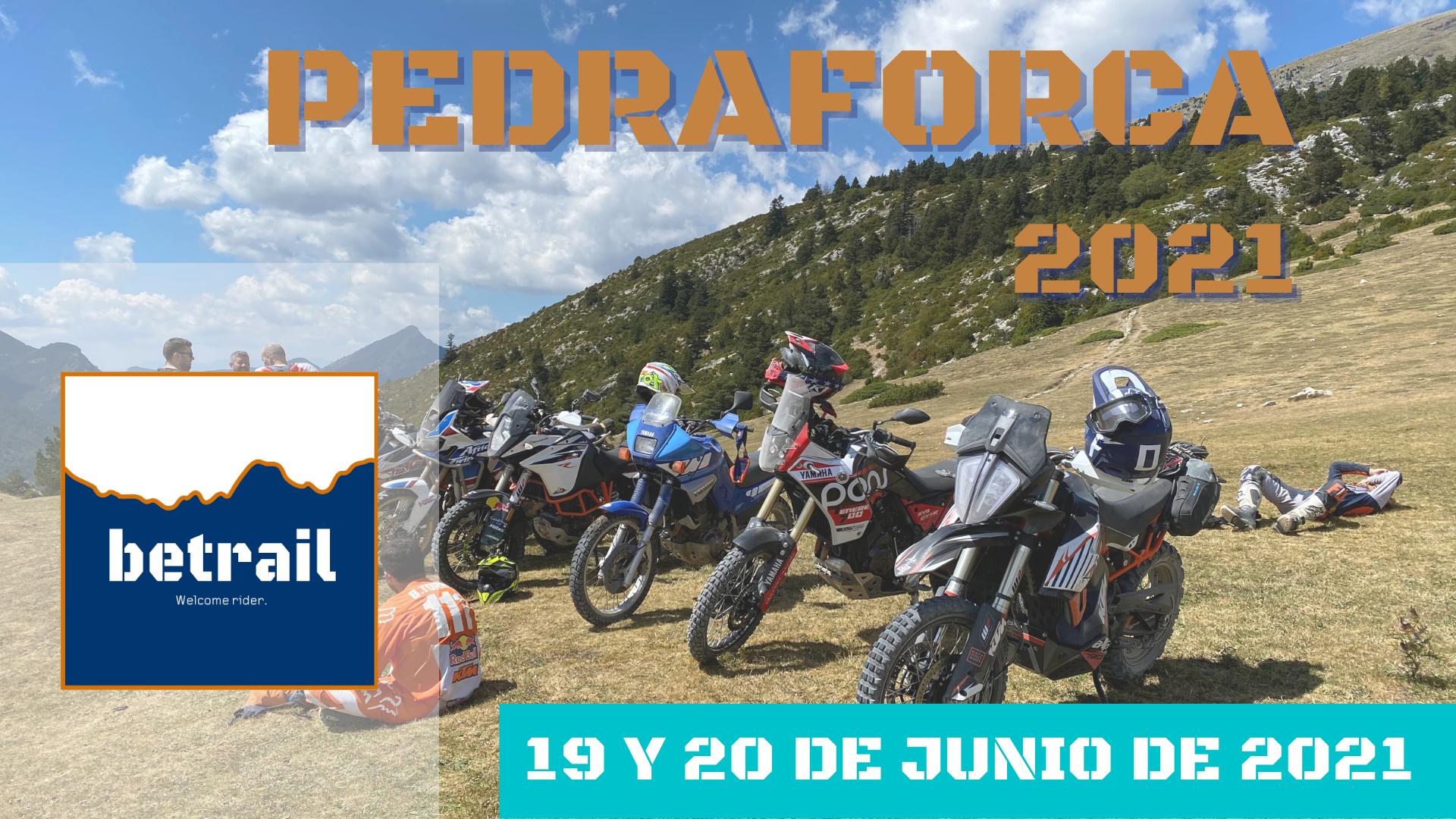 Ruta Pedraforca 2021 - betrail moto