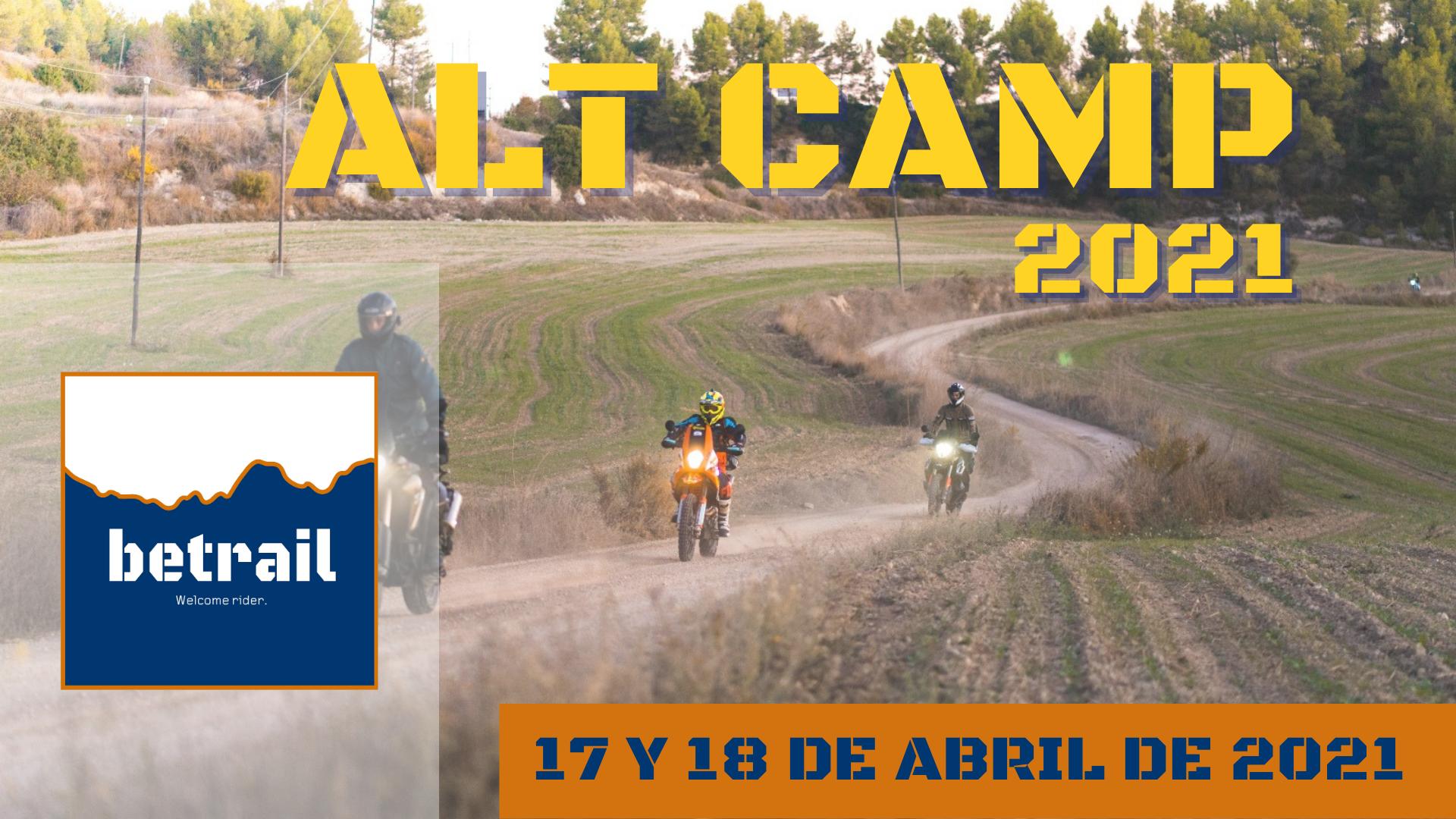 Ruta Alt Camp 2021 - betrail moto