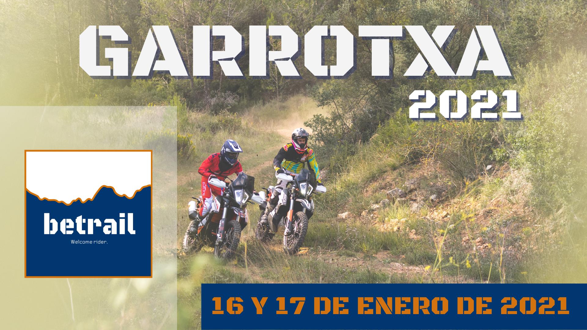 Ruta Garrotxa 2021 - betrail moto
