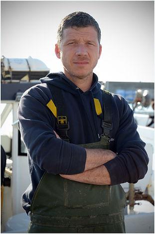 Renaud Fréjafond, patron pêcheur de Thon Rouge de ligne et Ikejime