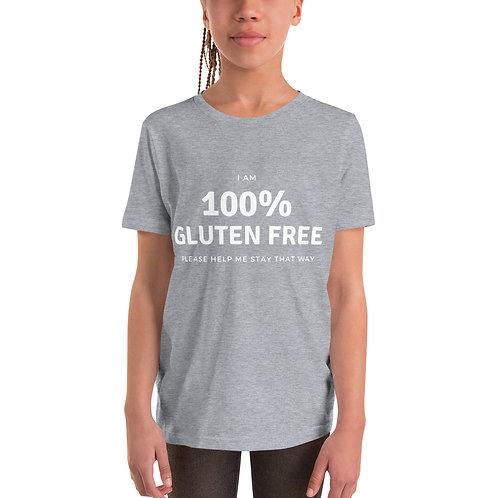 100% GF Unisex Youth Short Sleeve T-Shirt