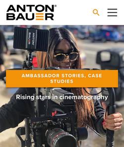Anton Bauer Interview