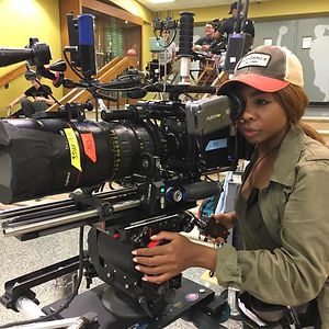 CAMERA ASSISTANT CAMERA OPERATING ON REP