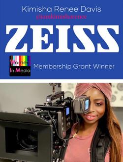 Zeiss x Women in Media Grant Winner