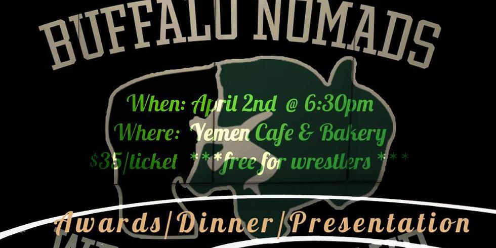 Nomads 2nd Annual Wrestling Banquet