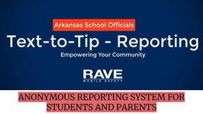 Anonymous Tip Reporting System