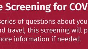 COVID-19 Free Screening Resource