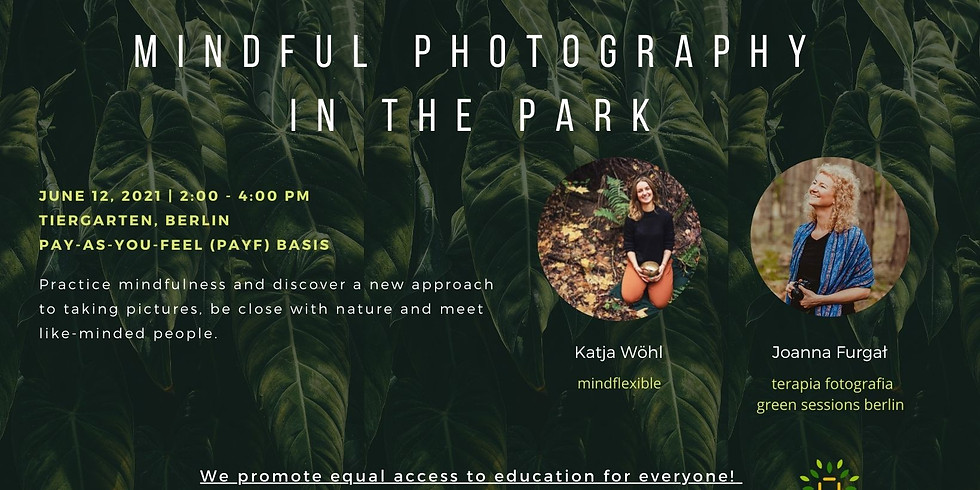 Mindful Photography In The Park