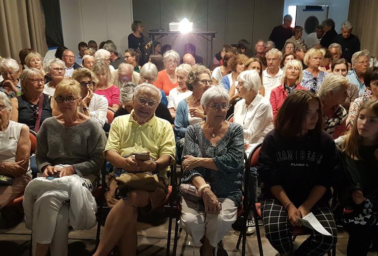Le public au Rinville