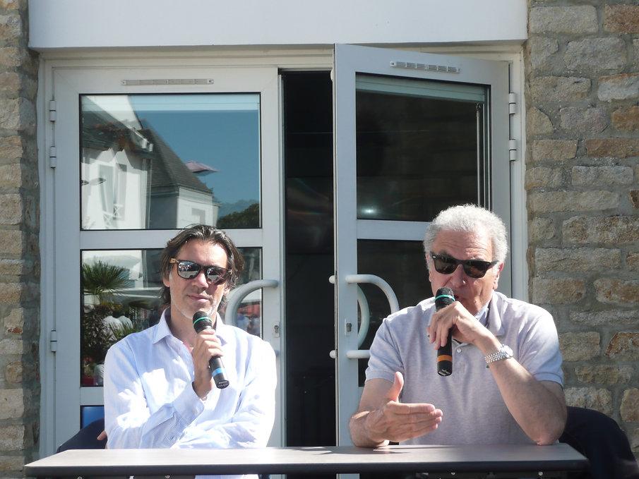 11-Emmanuel Mouret et S. Toubiana (photo