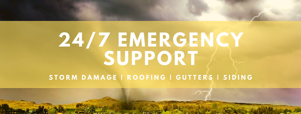 Infront roofing 24/7 Storm Damage Support