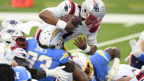 Pats demolish Chargers; back to .500 for first time since Week 4