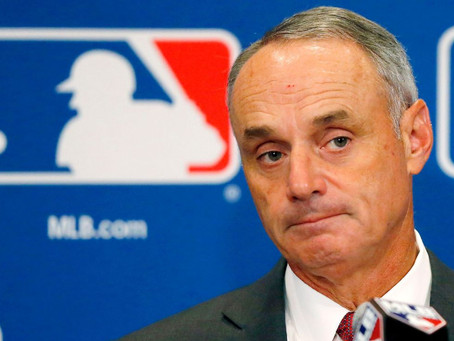 MLB, Players Association at odds once again.