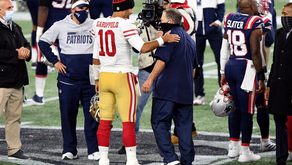 Despite pick swapping, Pats 'not pursuing' Garoppolo at this time