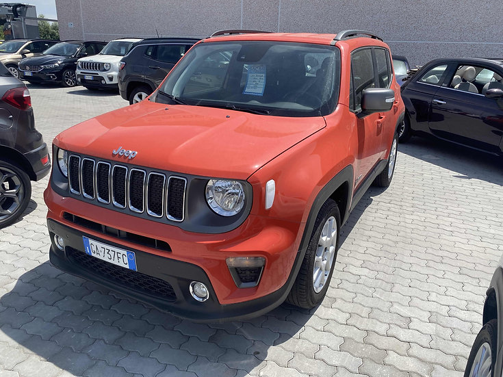 Jeep Renegade 1.6 MJET 120cv Limited DDCT Automatica